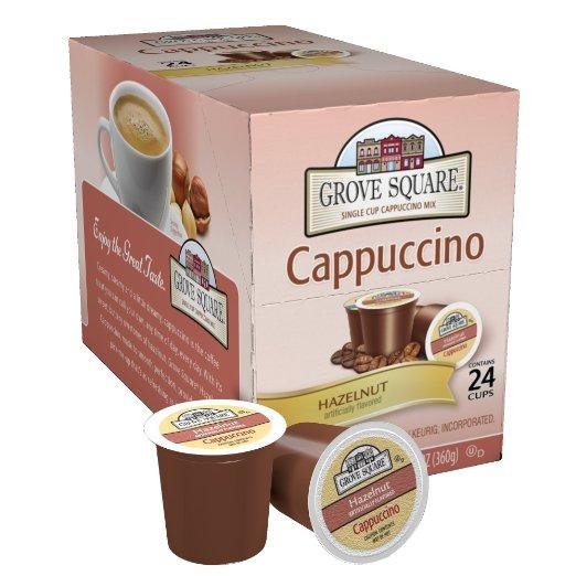 Grove Square Cappuccino, Hazelnut