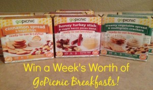 Win a Week's Supply of GoPicnic Breakfasts! (ends 11/15)
