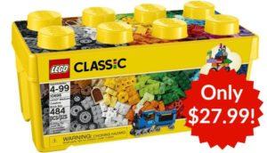 LEGO Classic Medium Creative Brick Box Only $27.99!