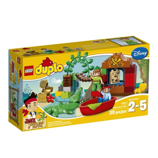 LEGO DUPLO Jake Peter Pan's Visit Building Toy
