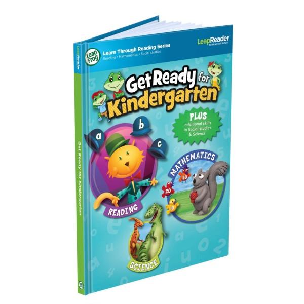 LeapFrog LeapReader Book Get Ready for Kindergarten