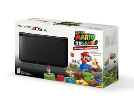 Nintendo 3DS XL Handheld Console with Super Mario 3D Land