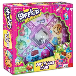 Shopkins Pop 'N' Race Game Only Only $7.24!