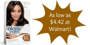 Walmart: Clairol Hair Color Only $4.42!