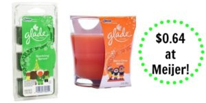 Meijer: Glade Products as low as $0.64!