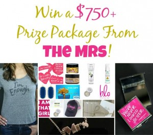 $750 Prize Pack Giveaway from The Mrs. Band + More! #EvenThough #ImEnough #TheMrsBand