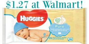 Walmart: Huggies Wipes Only $1.27!