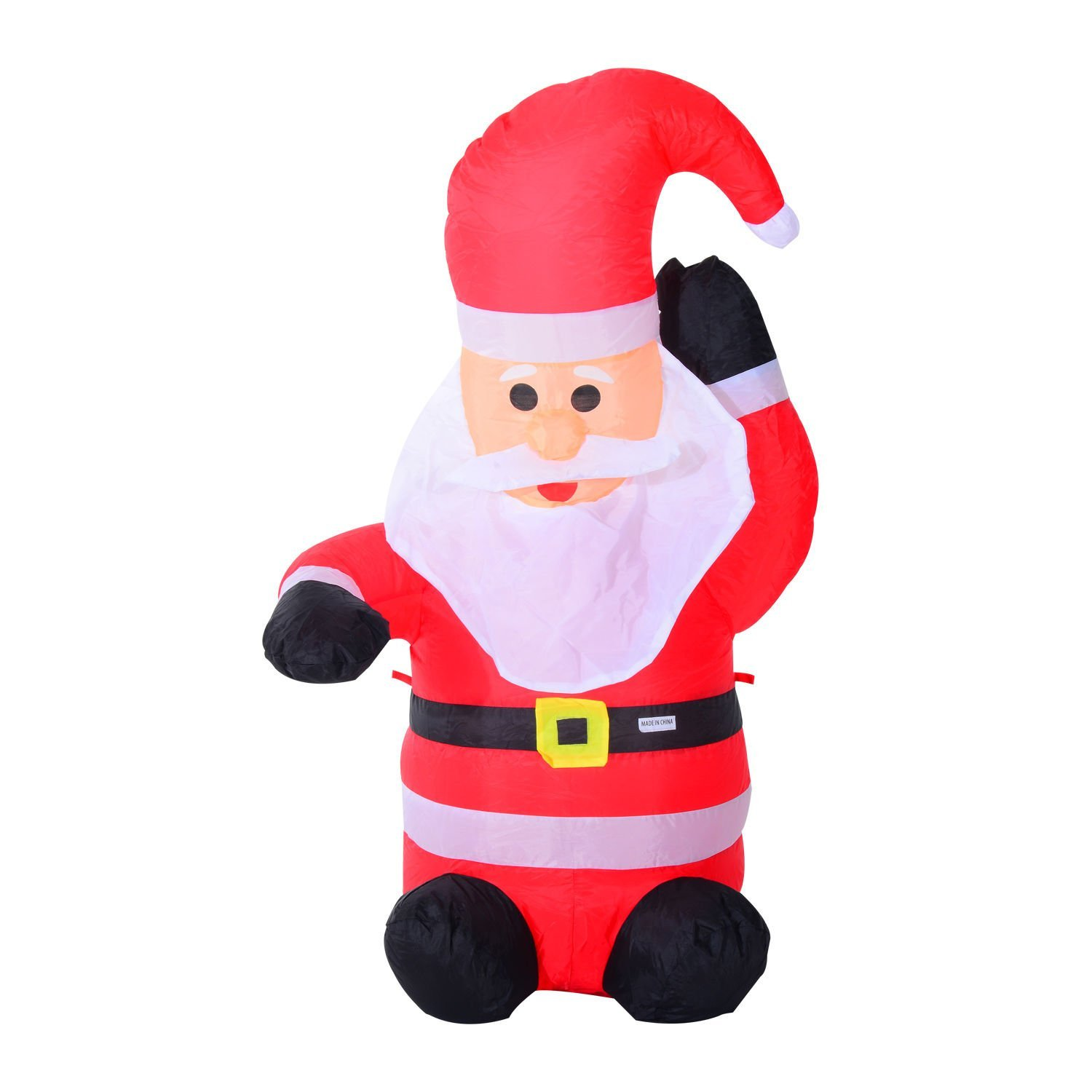 Inflatable waving santa claus only shipped reg