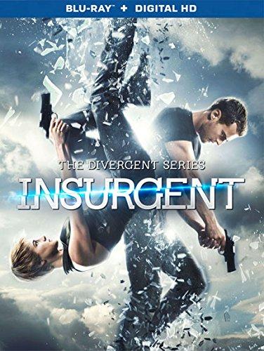 insurgent dvd + blu-ray