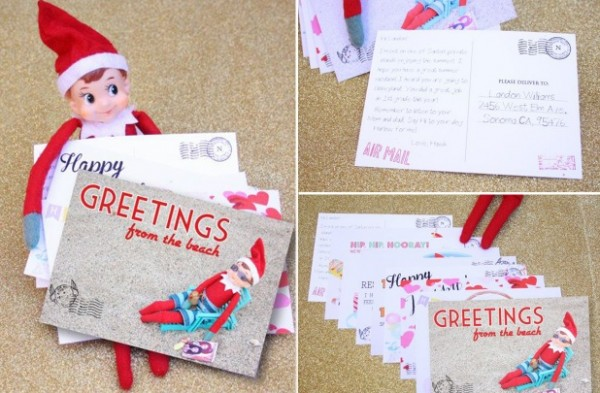 post cards from the elf