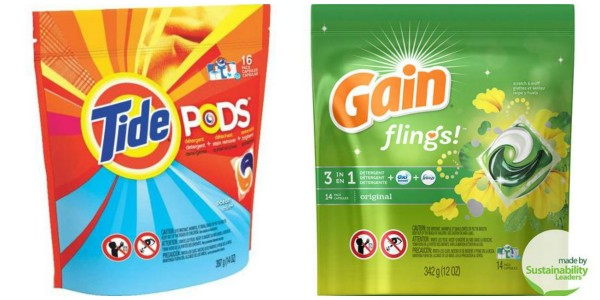 tide pods and gain flings