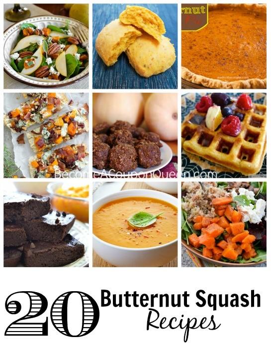 20 butternut squash recipes