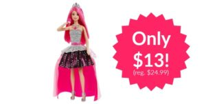 Barbie Rock 'n Royals Singing Courtney Doll only $13! (Reg. $24.99)
