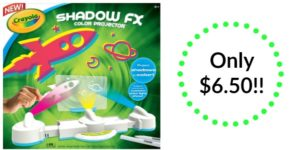 Crayola Shadow FX Color Projector only $6.50! (Reg. $24.99)