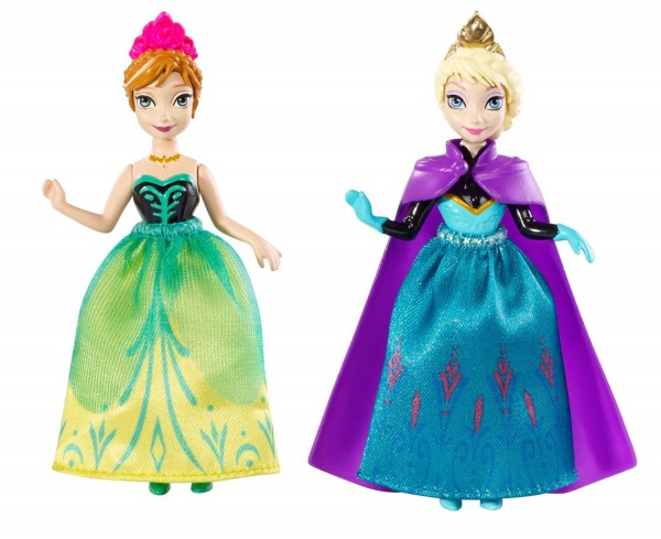 Disney Frozen Princess Sisters Celebration Anna and Elsa Small Doll