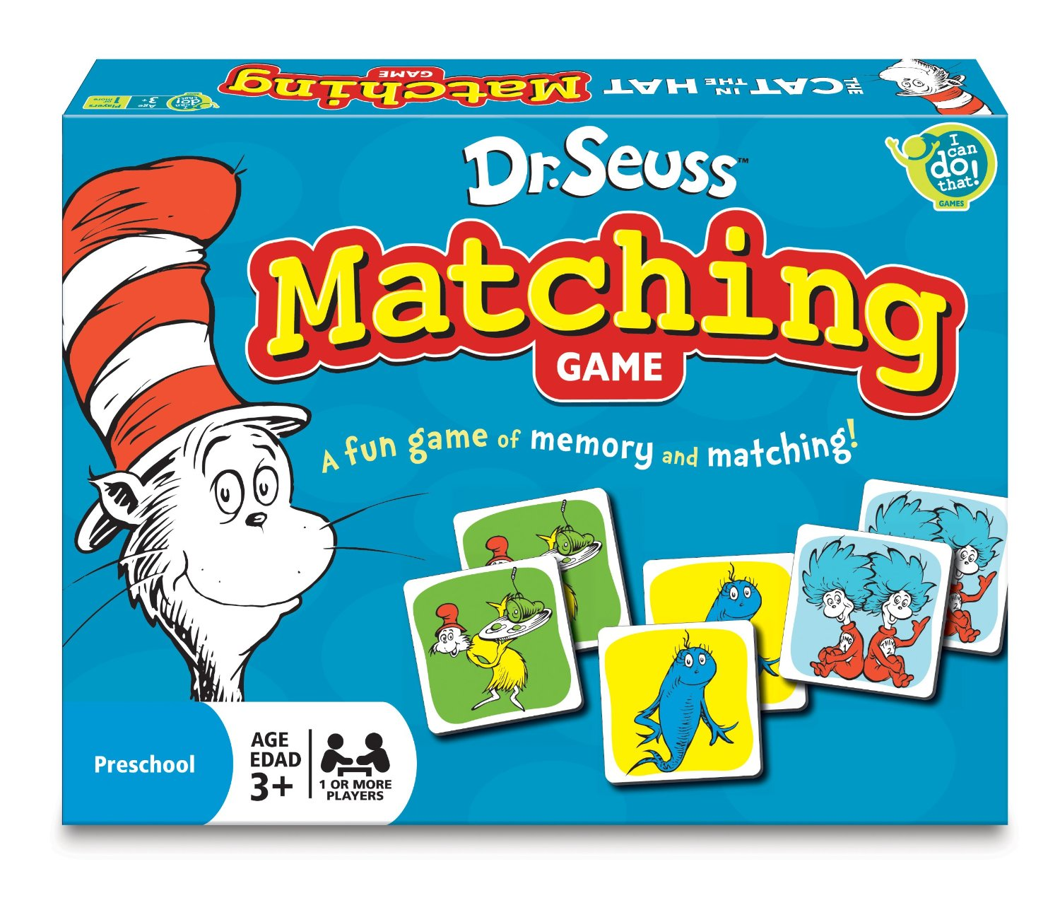 Dr Seuss Memory: Dr. Seuss Matching Game Only $4.99!