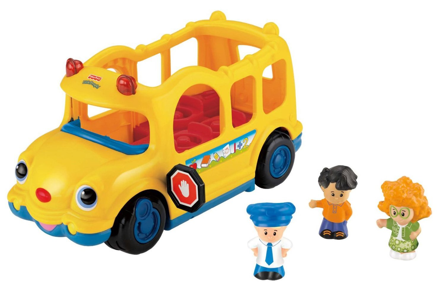 fisher price little people lil 39 movers baby school bus. Black Bedroom Furniture Sets. Home Design Ideas