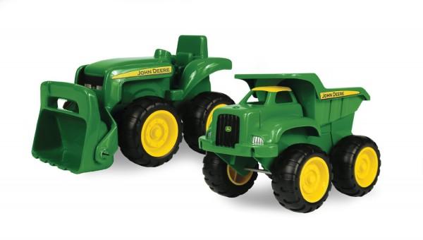 John Deere Sandbox Vehicle 2pk, Truck and Tractor