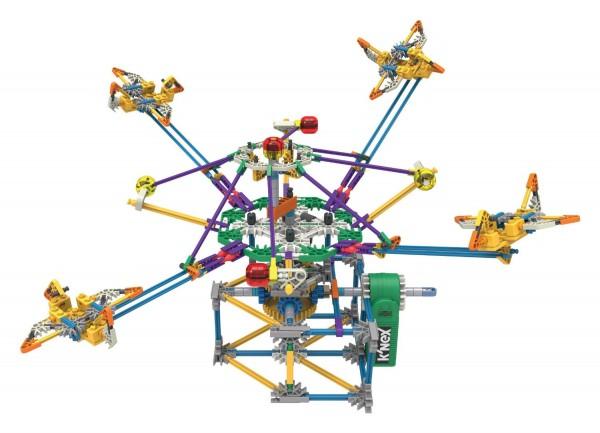K'NEX Supersonic Swirl Building Set, 464 Pieces
