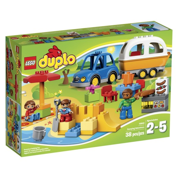 LEGO DUPLO Town Camping Adventure Building Kit