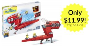 Mega Bloks Minion Supervillian Jet only $11.99! (Reg. $44.99)