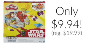 Play-Doh Star Wars Millennium Falcon Featuring Can-Heads Only $9.94! (reg. $19.99)
