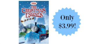 Thomas & Friends: The Christmas Engines on DVD only $3.99! (Reg. $14.98)
