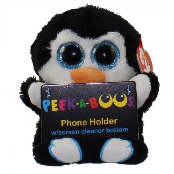 ty peek a boo phone holder with screen cleaner bottom only. Black Bedroom Furniture Sets. Home Design Ideas