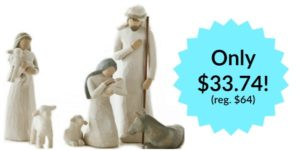 Willow Tree Nativity Set Only $33.74! (reg. $64)