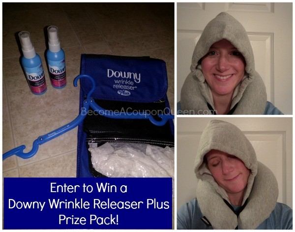 downy wrinkle releaser plus prize pack