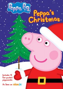 Peppa Pig Peppa's Christmas on DVD Only $6.79!