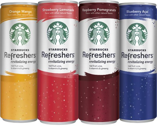 Starbucks Refreshers 12-can Variety Pack Only $15.19 ...