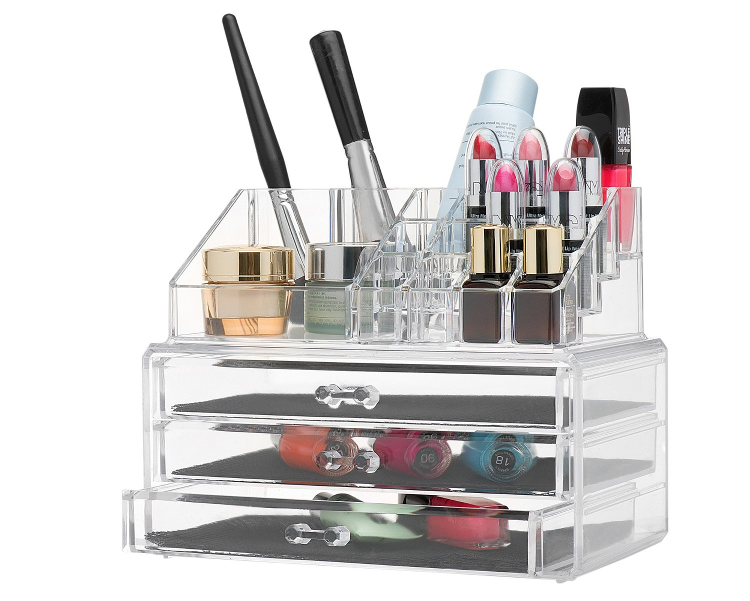 Clear Acrylic Makeup Organizer Only 14 99 Become A