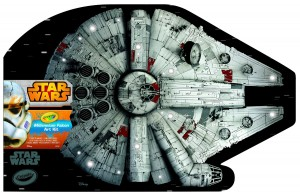 Crayola Millennium Falcon Art Case Only $8.20! (reg. $29)