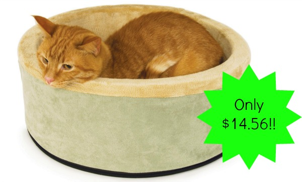 K Amp H Thermo Kitty Heated Cat Bed 14 56 Reg 67 99