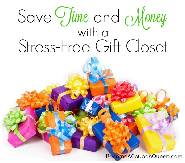 Save Time and Money with a Stress-Free Gift Closet