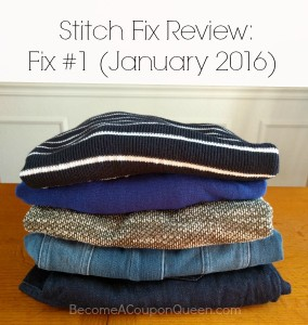 Stitch Fix Review: Fix #1 (January 2016)