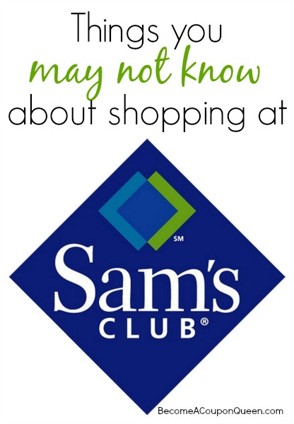 Things You May Not Know About Shopping at Sam's Club