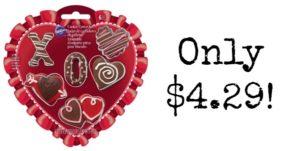 Wilton Valentine 6 Piece Mini Cookie Cutter Set for $4.29!