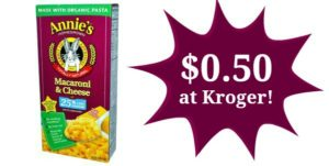 Kroger: Annie's Macaroni & Cheese Only $0.50!