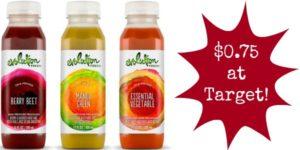 Target: Evolution Fresh Juice Only $0.75!