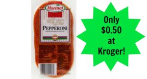 Kroger: Hormel Pepperoni Only $0.50!