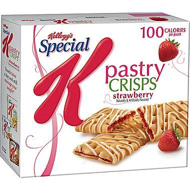 kellogg's special k pastry crisps