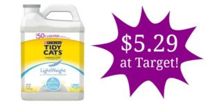Target: Tidy Cats Litter Only $5.29!