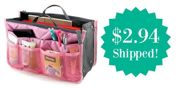 Purse Insert Organizer Only 2 94 Shipped
