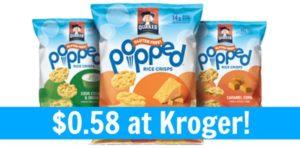 Kroger: Quaker Popped Rice Crisps Only $0.58!