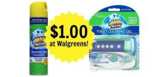 Walgreens: Scrubbing Bubbles Products Only $1.00!