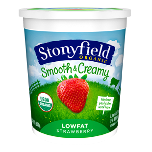 stonyfield yogurt quarts