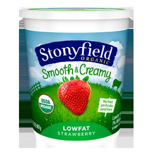 stonyfield yogurt quarts