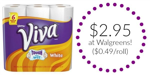 photo relating to Viva Printable Coupons identified as Walgreens: Viva Paper Towels Basically $0.49 for each Roll! - Develop into a